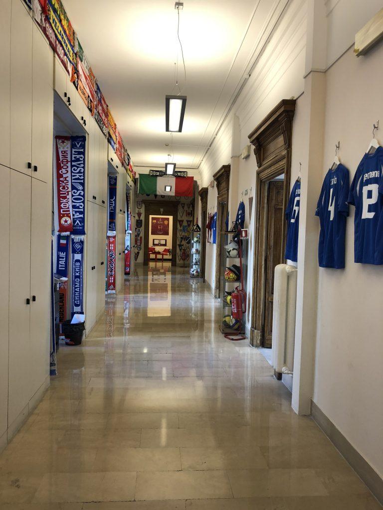 Gli uffici del CNIMS - particolare (foto Di Ruscio)