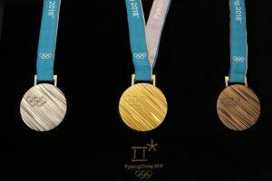 Le medaglie delle Olimpiadi invernali 2018